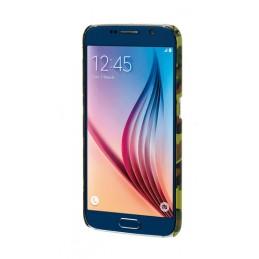 Stylish  cover gommata sottile - Samsung Galaxy S6 - Green Camo