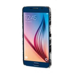 Stylish  cover gommata sottile - Samsung Galaxy S6 - Grey Camo