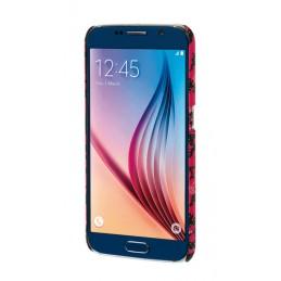 Stylish  cover gommata sottile - Samsung Galaxy S6 - Pink Camo