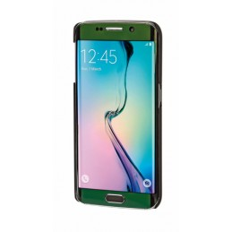Stylish  cover gommata sottile - Samsung Galaxy S6 Edge - Nero