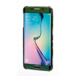 Stylish  cover gommata sottile - Samsung Galaxy S6 Edge - Grey Camo