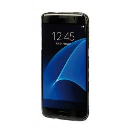 Stylish  cover gommata sottile - Samsung Galaxy S7 Edge - Grey Camo