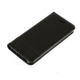 Wallet Folio Case  cover a libro - Apple iPhone 5   5s   SE - Nero