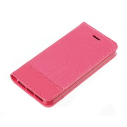 Wallet Folio Case  cover a libro - Apple iPhone 5   5S   SE - Cherry