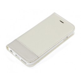Wallet Folio Case  cover a libro - Apple iPhone 6   6s - Bianco