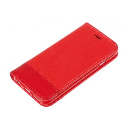 Wallet Folio Case  cover a libro - Apple iPhone 6   6s - Rosso