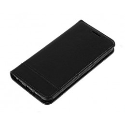 Wallet Folio Case  cover a libro - Samsung Galaxy S6 Edge - Nero