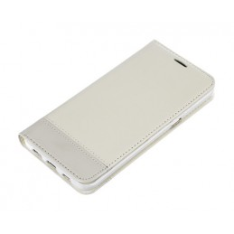 Wallet Folio Case  cover a libro - Samsung Galaxy S6 Edge+ - Bianco