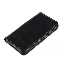 Wallet Folio Case  cover a libro - Huawei P9 - Nero