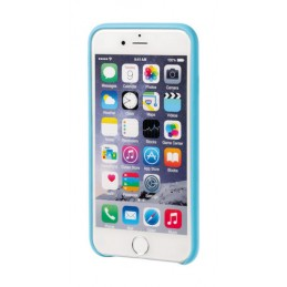 Skin  cover in similpelle - Apple iPhone 6   6s - Azzurro