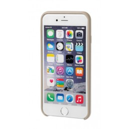 Skin  cover in similpelle - Apple iPhone 6   6s - Sabbia