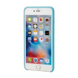 Skin  cover in similpelle - Apple iPhone 6 Plus   6s Plus - Azzurro
