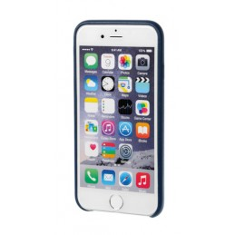 Skin  cover in similpelle - Apple iPhone 6   6s - Blu scuro