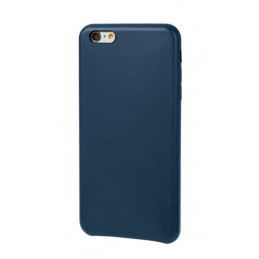Skin  cover in similpelle - Apple iPhone 6 Plus   6s Plus - Blu scuro