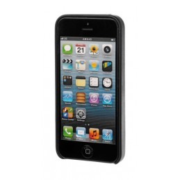Skin  cover in similpelle - Apple iPhone 5   5S   SE - Nero