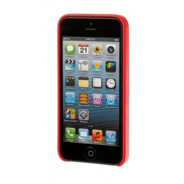 Skin  cover in similpelle - Apple iPhone 5   5s   SE - Rosso