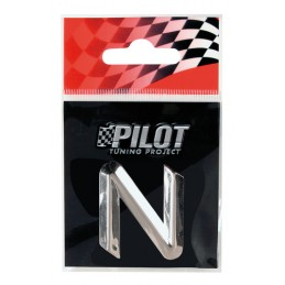 3D Letters Type-2 (26 mm) - N