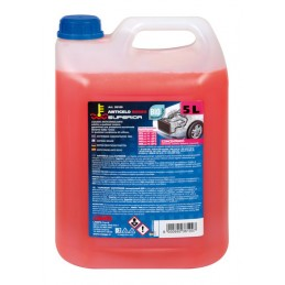 Superior-Rosso  liquido antigelo concentrato - 5000 ml