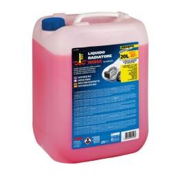 Superior-Rosso  liquido antigelo radiatore (-20 gradi C) - 20 L