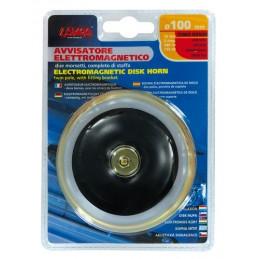 Avvisatore acustico   100 mm  12V - Tono basso