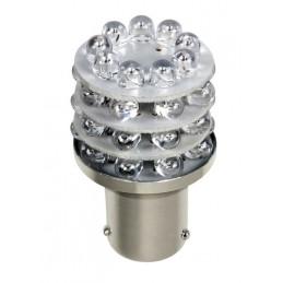 12V Lampada Multi-Led 36 Led - (P21 5W) - BAY15d - 1 pz  - D Blister - Rosso