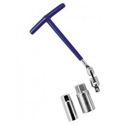 Chiave svitacandele snodabile - 16+21 mm