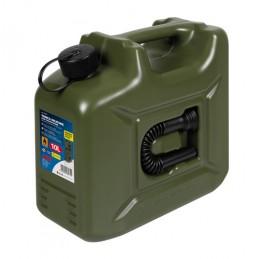 Tanica carburante in polietilene  modello militare - 10 L
