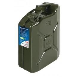 Tanica carburante tipo militare in metallo - 10 L