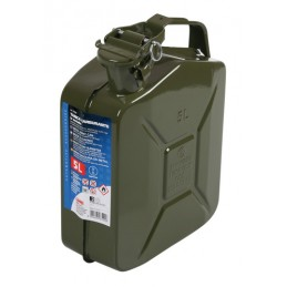 Tanica carburante tipo militare in metallo - 5 L
