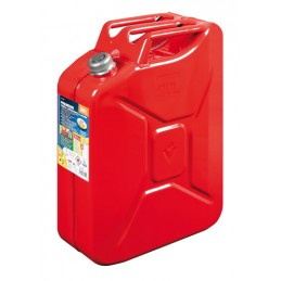 Premium  tanica carburante in metallo - 20 L - Rosso