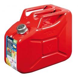 Premium  tanica carburante in metallo - 10 L - Rosso