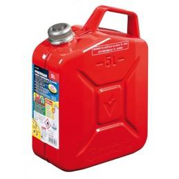 Premium  tanica carburante in metallo - 5 L - Rosso