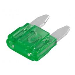 Set 100 micro fusibili lamellari  12 32V - 30A