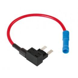 Ruba-corrente per fusibile lamellare micro  12 24V