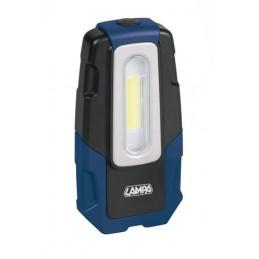 GL-2  lampada ispezione ricaricabile a LED COB - 12 24 230V
