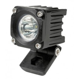 WL-19  faro ausiliario a 1 Led - 9 32V - Luce focalizzata - Bianco
