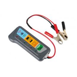 Tester per batteria e alternatore  12V