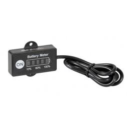 Indicatore di carica a Led per batteria  12 24V