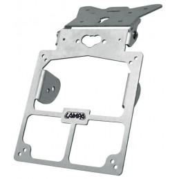 Xtreme  portatarga universale - Alluminio