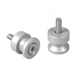 Coppia supporti cavalletto - 6 mm - Alluminio