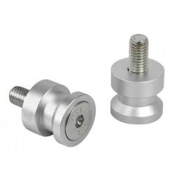 Coppia supporti cavalletto - 8 mm - Alluminio