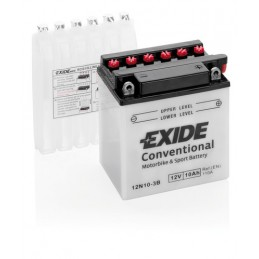 Batteria 12V - Exide Bike Conventional - 10 Ah - 110 A