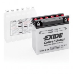 Batteria 12V - Exide Bike Conventional - 6 Ah - 45 A
