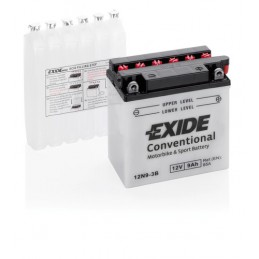 Batteria 12V - Exide Bike Conventional - 9 Ah - 85 A