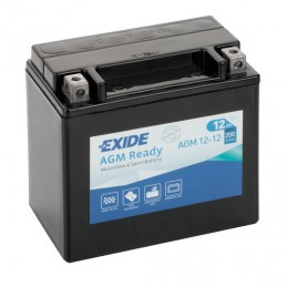 Batteria 12V - Exide Bike AGM Ready - 12 Ah - 200 A