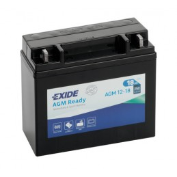 Batteria 12V - Exide Bike AGM Ready - 18 Ah - 250 A