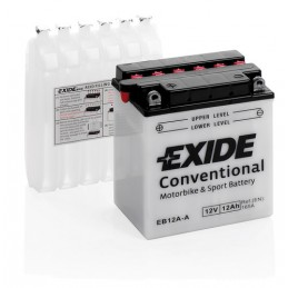 Batteria 12V - Exide Bike Conventional - 12 Ah - 165 A