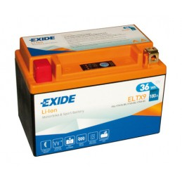Batteria 12V - Exide Bike Li-Ion LiFePo4 - 36 Wh - 180 A