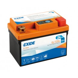 Batteria 12V - Exide Bike Li-Ion LiFePo4 - 24 Wh - 120 A
