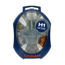 12V Kit Lampade di ricambio 12V - 1 pz  - Scatola Plast. - H1